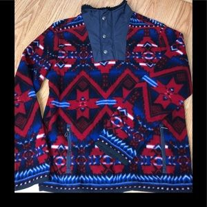 Polo RL fleece navajo pullover